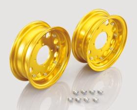 "8"" Kitaco alu fälgset 8håls design Guld"