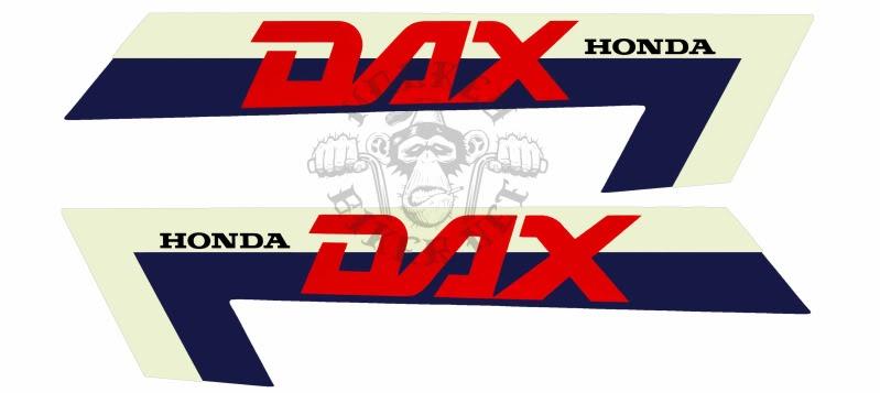Monkeybiker Sweden - Dax ST70 1982 decal set