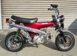 Upswept Dax exhaust Kitaco