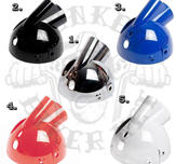 headlight bucket black