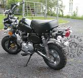 Replika Monkeybike 125cc Svart
