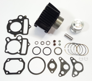 85cc cylinder kit 50cc head 6v