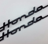 Honda sticker Dax & Chaly black