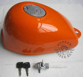 Gas tank Monkey J2 new style orange