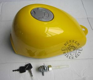 Gas tank Monkey J2 new style yellow