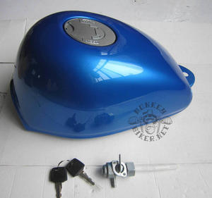 Gas tank Monkey J2 new style blue