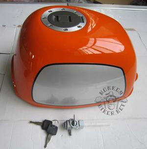 Gas tank Gorilla new style orange