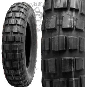 "8"" Bridgestone knobby tyres 8-3,5"