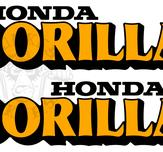 Gorilla Z50JZ decal set