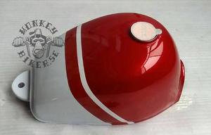 Tank Monkey J2 replika röd vit