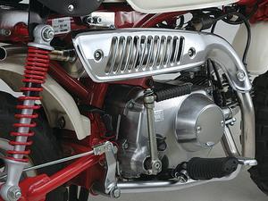 Överliggande Daytona Z-style muffler