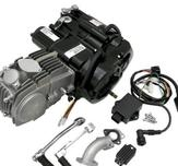 Lifan 150cc engine Black