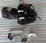 107cc motor svart
