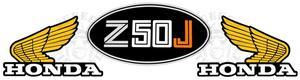 Monkey Z50JZ dekalset