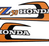 Monkey Z50A K5 decal set